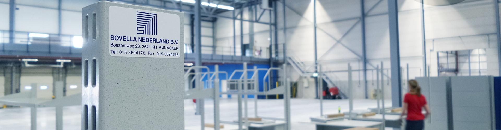 Sovella Nederland BV is specialist in het leveren en uitdenken van Treston inpaktafels voor logistiek en webshops.