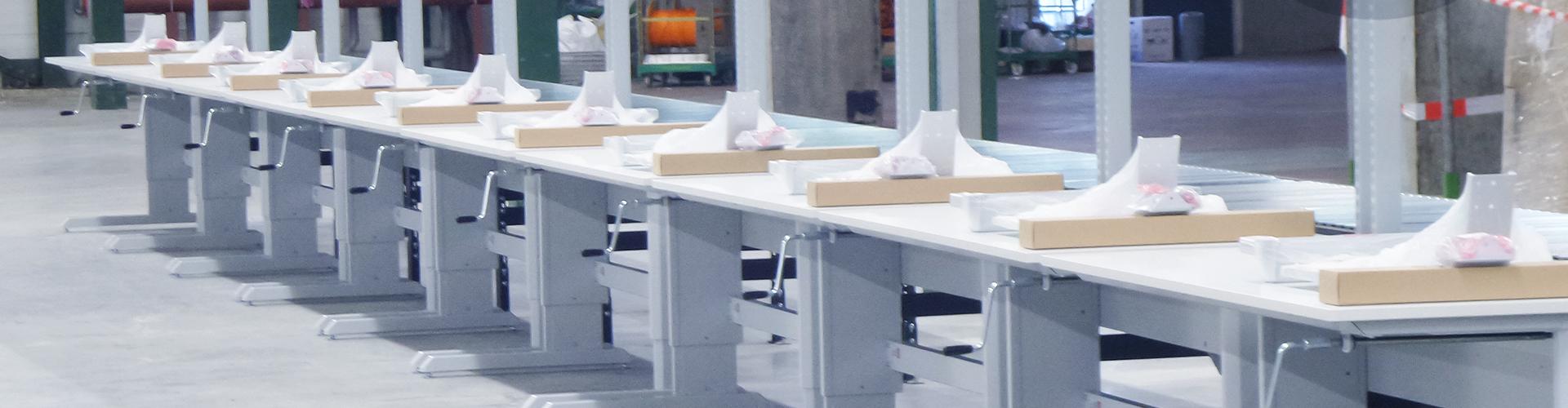 Sovella Nederland levert Treston inpaktafels sinds 1963