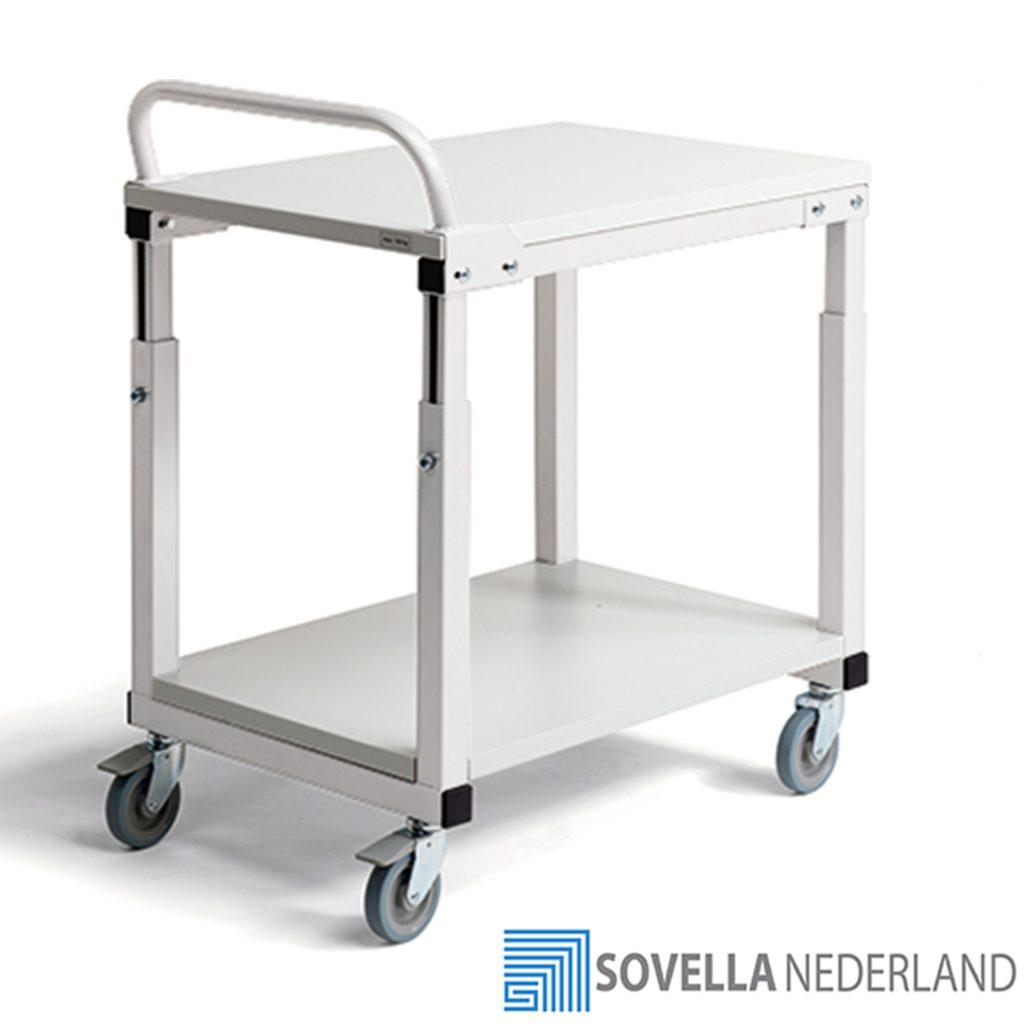 Treston SAP507 trolley hand handgreep nabij inpaktafel