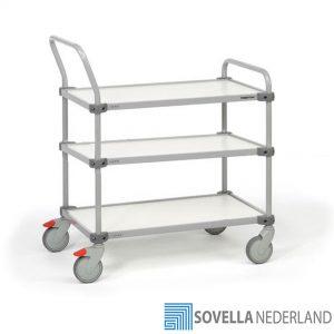 Treston TRTA trolley voor vervoeren en picken van goederen - Inpaktafels