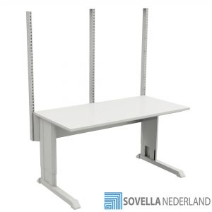 Sovella Nederland Concept inpaktafel met perfo zuilen - Treston