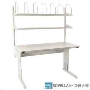 Sovella Nederland Treston paktafel inpaktafel double shelf combinatie