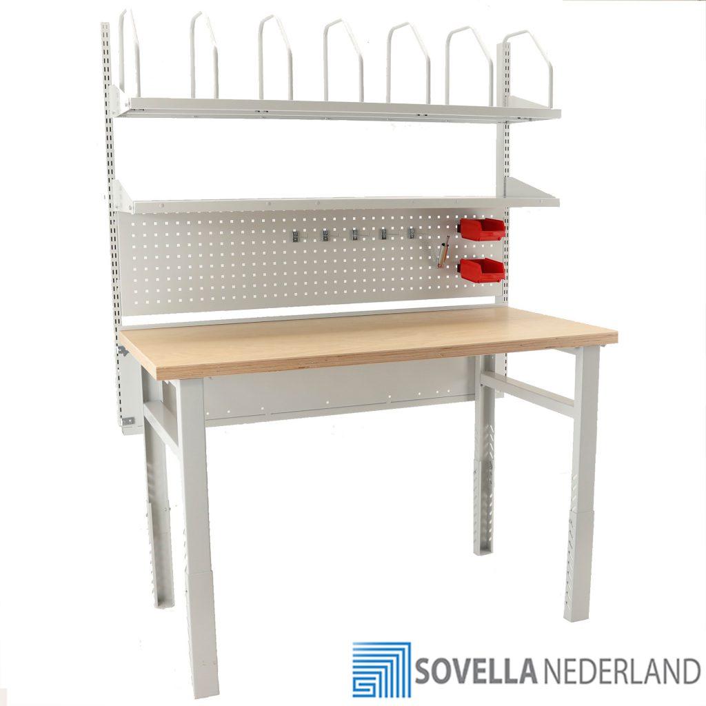 Treston Heavy Duty inpaktafel combinatie 2 - Sovella Nederland