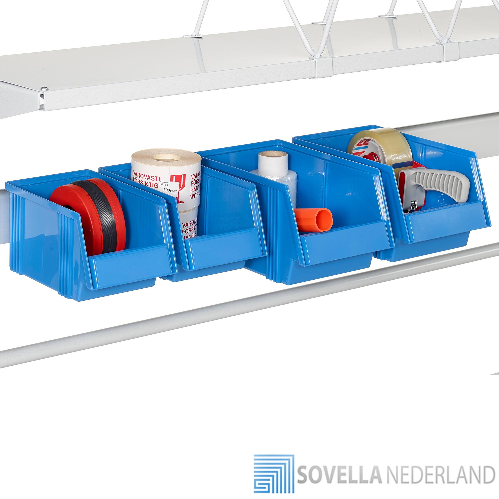 Grote uitbreiding accessoires voor inpaktafels