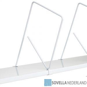 Sovella Nederland Treston kartonlegbord staal met verdelers