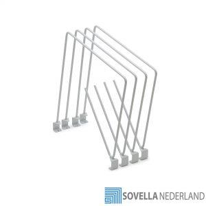Treston flexibele verdelers voor karton op een inpaktafel: PHD400